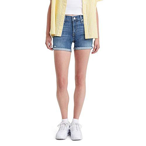 Levi's Women's Mid Length Shorts, hawaii Ocean, 29 (US 8)