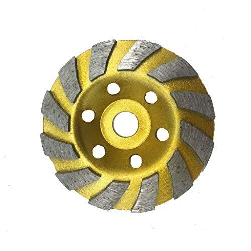 PINH-lang Diamant-Schleiftopf,125mm Diamond Grind Cup Segment Schleifscheibe für Winkelschleifer Zubehör