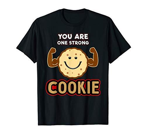 Plätzchen-Geschenke, Keks-Rezepte, ein starkes Plätzchen T-Shirt