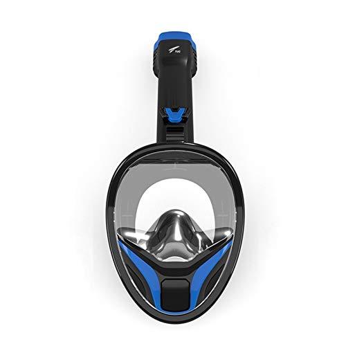 Máscaras De Buceo Completa Máscara Equipo De Snorkel Profesional Plegable Máscara De Esnórquel Antivaho De Cara Completa Máscaras De Respiración Submarina Equipo De Buceo De Entrenamiento Impermeable
