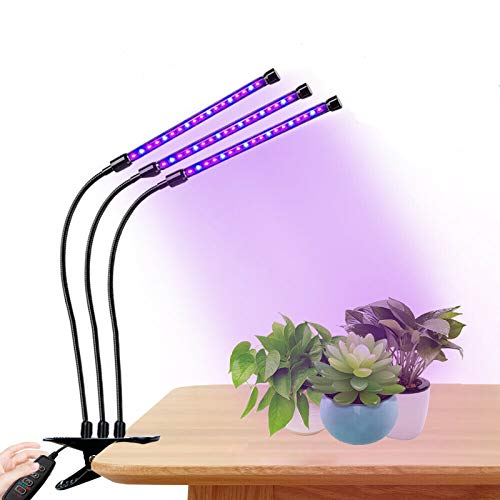 HENGMEI 30W Pflanzenlampe Pflanzenleuchte Pflanzenlicht Wachstumslampe Rot&Blau Zimmerpflanzen Wuchslampen Innengarten Pflanze wachsen Licht (30W)
