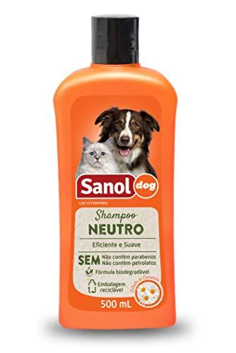Shampoo Neutro Sanol Dog 500 ml, Sanol Dog, Laranja, 500 Ml