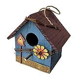 Gazechimp Casas de Madera para Pájaros para Jardín Colgant