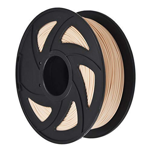 3D Printer Filament - 1KG (2.20 lbs) The Diameter of 1.75mm, Dimensional Accuracy PLA Multiple Color, Imitation Wood