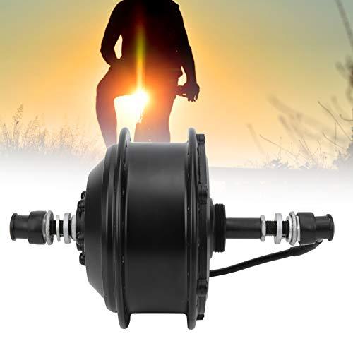 BOTEGRA Motor de Cubo de Engranajes sin escobillas Mini Motor eficiente y fácil de Instalar, para Coche eléctrico, para Bicicleta Plegable(Backdrive, Pisa Leaning Tower Type)