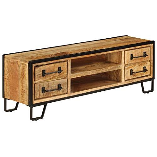 Mueble Tv de madera y hierro