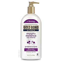 commercial Gold Bond Ultimate Strength  Resilience Skin Therapy Lotion, 13 oz. gold bond face