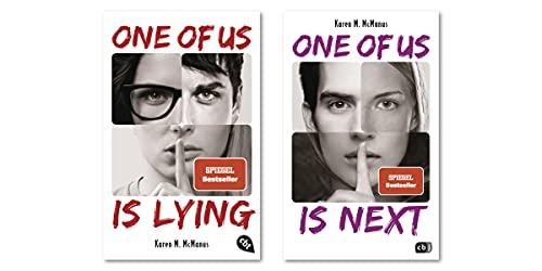 "Karen M. McManus-Set: ""One of Us is Lying"" + ""One of Us is Next"" (Die ONE OF US IS LYING-Reihe, Band 1+2)"