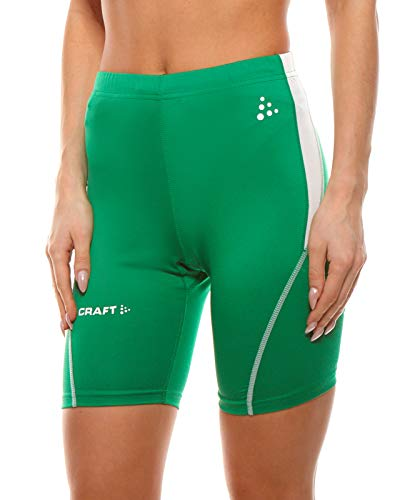 Craft Short Fonctionnel, Pantalon de Sport Respirant pour Hommes, avec Ceinture élastique, Vert, Taille:44