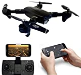SUPER TOY 720P HD Wi-Fi Camera Drone Foldable Pocket Quadcopter