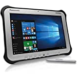 "Panasonic Toughpad FZ-G1, Intel Core i5-4310U @2.0GHz, 8GB, 256GB SSD, 10.1"" WUXGA Multi Touch + Digitizer, WiFi, Bluetooth, Webcam, Rear Cam, Windows 10 Pro, 4G LTE, Dedicated GPS (Renewed)"