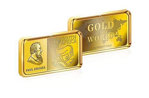 TopschnaeppchenDSH Sonderprägung Edler Goldbarren Südafrika Krügerrand (999,9/1000)