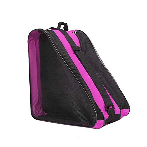 Ice & Inline-Skate-Tasche mit Schultergurt - Premium Tasche tragen Schlittschuhe, Rollschuhe, Inline-Skates für Kinder und Erwachsene
