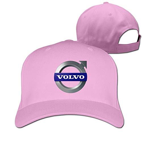 Customized Fashion Volvo Logo Adjustable Outdoor Sport Cap for Men Womens,Black,Sombreros y Gorras
