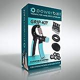 Powerball Grip Kit de Renforcer Les Muscles de l'avant-Bras, de la Main et du Poignet. Cinq Produits...