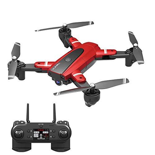 L130 Pro Drone com camera HD Siga me WiFi FPV 1080P - Camera 1080P Vermelho 3 Baterias 66 Minutos