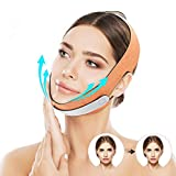 CHARMINER Face Slimming Strap, V-Shaped Line Chin Up Face Lift Double Chin Belt Eliminates Wrinkles Sagging Anti-aging Painless Firming Mask for Women