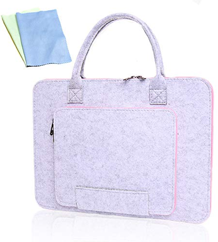 SanerDirect Hand-held Protective Bag for A4 Light Pad, Diamond Painting Tools Accessories - Laptop Case with cleaning cloth (Upgrade)