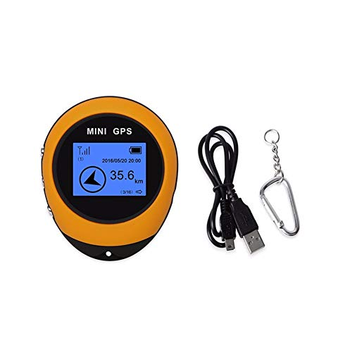 Review Of Mini GPS Navigation,Portable Outdoor Location Finder Tracker Handheld with Kay Chain USB R...