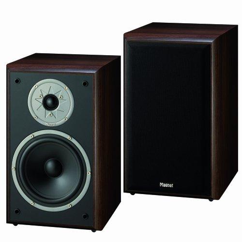 Magnat Monitor Supreme 200 Coppia di altoparlanti a 2 vie (180 Watt), colore: Moka