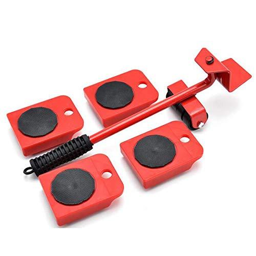 Générique Minshang 5 pièces Ensemble d'outils de déplacement de Poussoir de Meubles Roues Mobiles résistantes de Curseur de Meubles