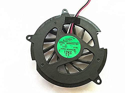 Ellenbogenorthese-LQ Nuevo Ventilador de refrigeración de CPU para computadora portátil para HP DV5000 DV5100 dv8000 V5000 C300 C500 Intel (Color : Default)