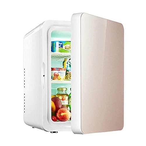 Belleza impecable Mini nevera/refrigerador automóviles cosmético-6 litros, pequeño y ligero, bajo ruido, enfriamiento rápido de hasta 0 grados, utilizado para maquillaje y cuidado piel