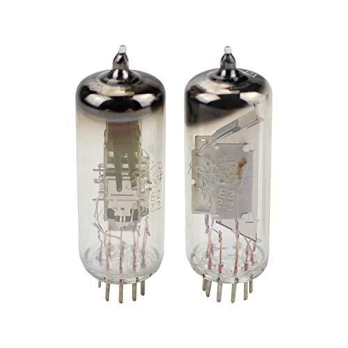 WNJ-TOOL, 2pcs 6E2 Amplificador VÁLVULA DE VÁLVULA DE INDICADOR ELECTRÓNICO Reemplazar EM84...