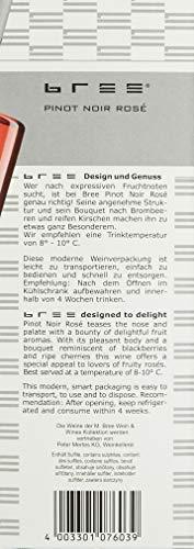 Bree Pinot Noir Rosé Qualitätswein feinherb aus Deutschland, Bag-in-Box (1 x 3 l) - 3