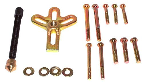 (Best tools) 13pc Harmonic Balance Puller Shaft Steering Wheel Crank Crankshaft Damper puller