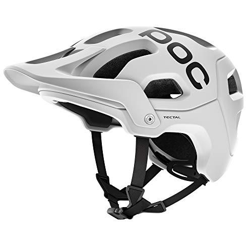 POC Tectal, Unisex Erwachsene Fahrrad Helm,weiß (Hydrogen White), XL-XXL (59-62 cm)