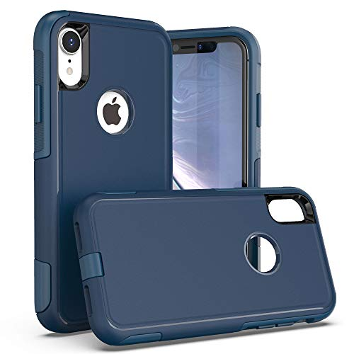 Krichit Pioneer Series Case for iPhone XR Pioneer Case Heavy Duty Case iPhone XR Cases (Pioneer Bespoke Blue)
