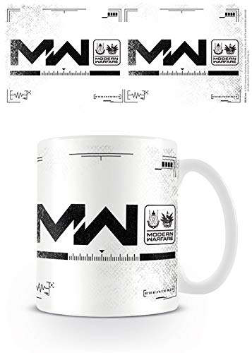 Call of Duty: Modern Warfare (Logo) MG25595 Call of Duty: Modern Warfare – Taza de cerámica de 11oz / 315ml (Logo)
