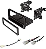 Premium ASC Car Stereo Dash Install Kit, Wire Harness, Antenna Adapter to Install a Single Din Aftermarket Radio for 2013-2016 Scion FR-S FRS, 2013-2015 Subaru BR-Z BRZ