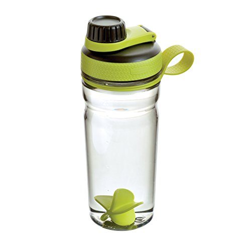 Rubbermaid Shaker Cup for Protein Shakes - 20-Ounce Protein Shaker Bottle for Mixing Whey...