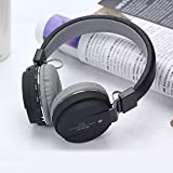 Ratehalf® SH12 Foldable on-Ear Wireless Stereo Bluetooth Headphones Supports MP3, FM, TF Card