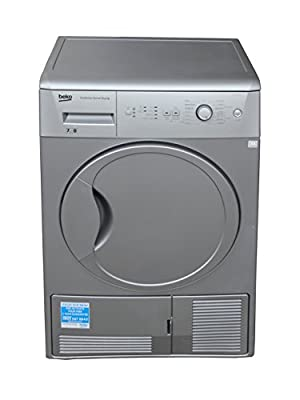 Beko DCU7230S tumble dryers condenser in Silver