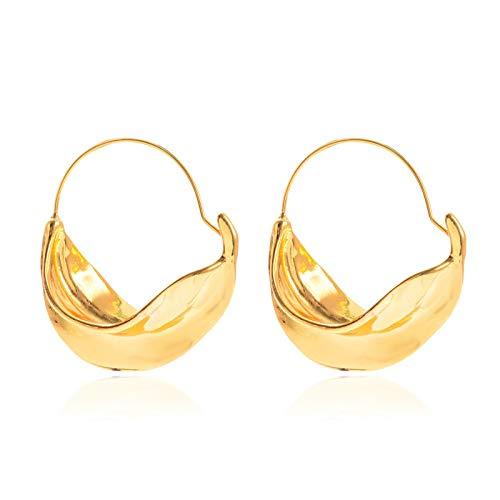 XIANRUI metalen mand Stud gouden oorbellen Temperament Asymmetrische oorbellen oor ornamenten