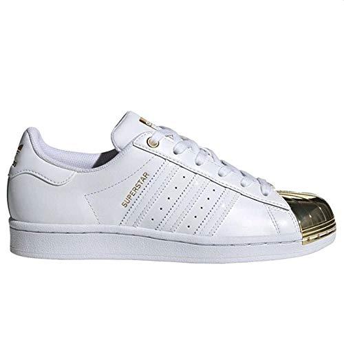 adidas Superstar Metal Toe W - Zapatillas deportivas para mujer, color blanco, 41 1/3