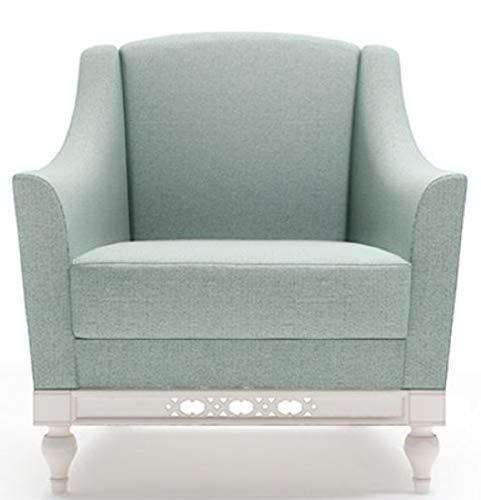 Casa Padrino Jugendstil Sessel Mintgrün/Weiß 81 x 90 x H. 96 cm Qualität