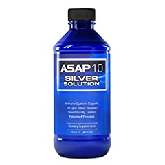 Immune system support 10 PPM silver solution Scientifically tested dietary supplement manufactured using a uniqe and patented silver technology Contains no artifical ingredients, preservatives or additives Suggested Use: For Adults - 1 teaspoon up to...