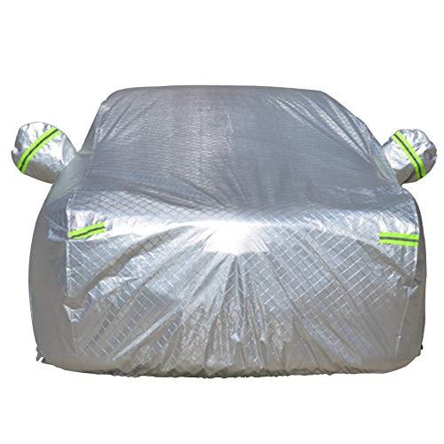 WFWT Coche Lona, Hecho Materiales a Prueba de Agua-dotada de un Garaje-Transpirable, Ideal for el Invierno-Car Cubierta completos