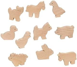 Goki 53871 - Animales De Granja (10 Modelos) (Madera) (+3 Años)