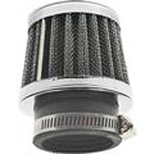 Unbekannt Renn-Luftfilter PHVA PHBN 36mm Ø Vergaser Aprilia & Piaggio.schwarz/silber