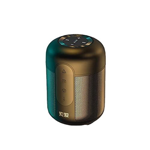 ErLaLa Coche casero del hogar del Altavoz de la Fuente Directa de la Nueva fábrica del Altavoz Bluetooth inalámbrico Elegante Mini al Aire Libre