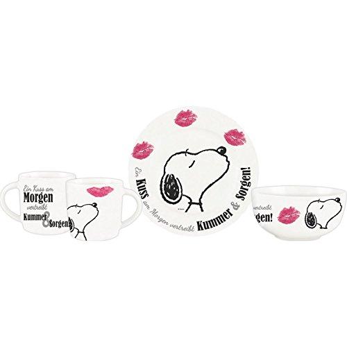Peanuts Snoopy Collection - 3 tlg. Frühstücksset in Geschenkbox