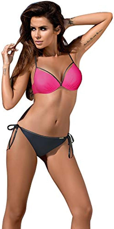WAZTL Badeanzug Frauen Bikini Set Plus Größe Bademode Weibliche Borde Badeanzug Sommer Badeanzug Beachwear XXL B07Q18YCDG  Online-Shop