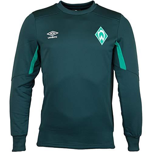 Werder Bremen Umbro Top Sweatshirt Sweater (L, grün)