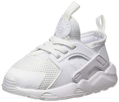 Nike Huarache Run Ultra (TD), Chaussures de Running Compétition Mixte Enfant, Blanc (White/White-White 100), 25 EU