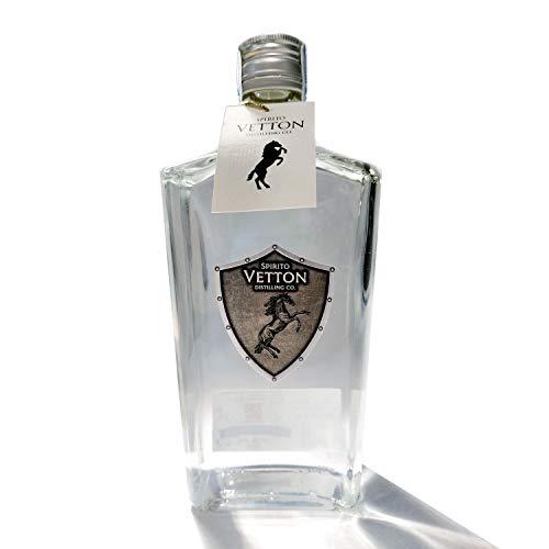 Spirito Vetton- Ginebra Premium Artesanal – Botella de 70 cl - Mejor Ginebra Española por Segundo Año Consecutivo (EXTRA DRY)